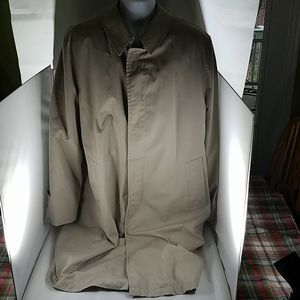 Misty Harbor Jackets & Coats - Mens Beige Misty Harbor Lined Trench Coat 42L